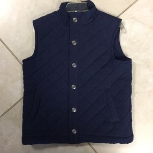 Janie and jack navy puffy vest great condition 4T